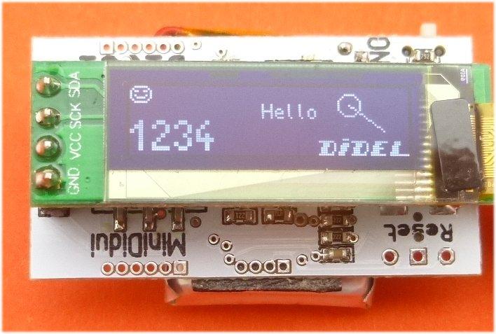 Oled SSD1306 I2C 32x128